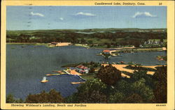 Showing Wildman's Landing, Candlewood Lake