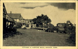 Cottages At Hartford Beach Postcard