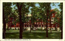 Hunt Hall, Bucknell University Postcard