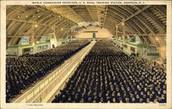 World Communion Exercises, U. S. Naval training Station