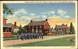 Flying Cadets In Non-Com. Officers Section, Scott Field