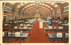 Interior Main Mess Hall, Chanute Field