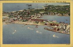 An Aerial View Of Woods Hole