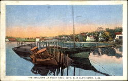 The Derelicts At Rocky Neck Cove Postcard