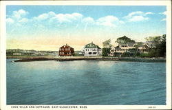 Cove Villa And Cottages Postcard