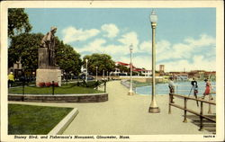 Stacey Blvd. And Fisherman's Monument
