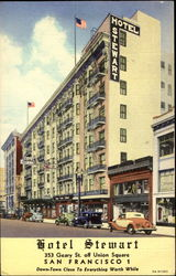 Hotel Stewart, 353 Geary St. Off Union Square
