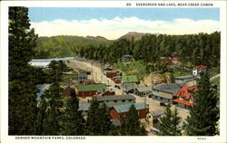 Evergreen And Lake Bear Creek Canon
