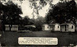 Bacon's Screened Porch Cabins