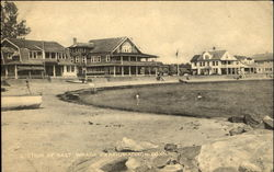 Section Of East Wharf Beach Postcard