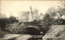 Spanish American War Memorial, Willow Brook Park