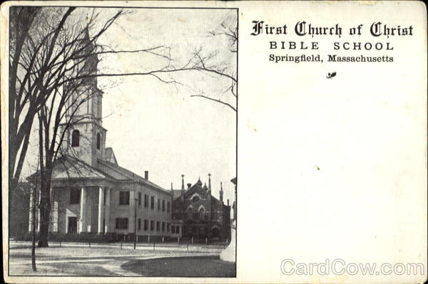 First Church Of Christ Springfield Massachusetts