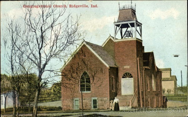 Congregational Church Ridgeville Indiana