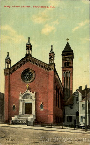 Holy Ghost Church Providence Rhode Island