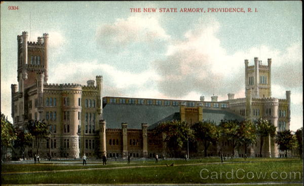 The New State Armory Providence Rhode Island
