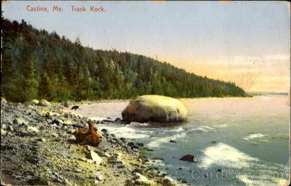 Trask Rock Castine Maine