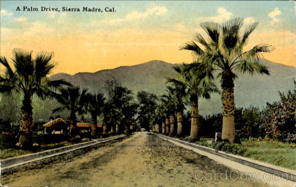 A Palm Drive Sierra Madre California