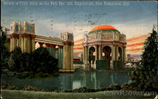 Place of Fine Arts San Francisco California