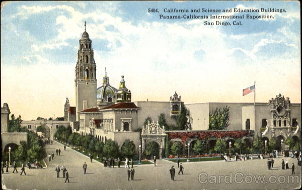 California And Science and Education Buildings San Diego