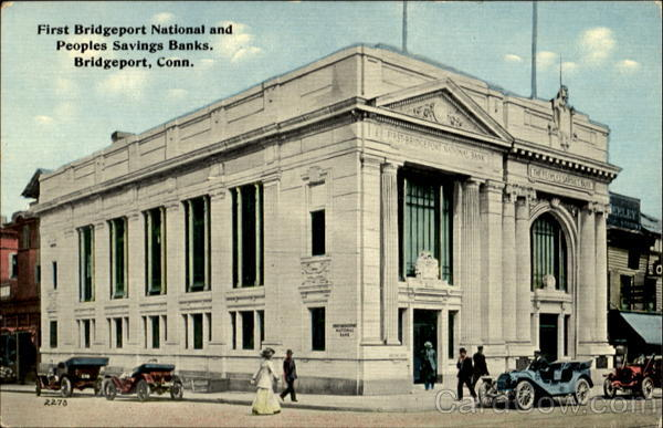 First Bridgeport National And Peoples Savings Banks Connecticut