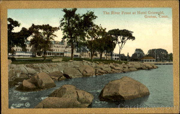 The River Front At Hotel Griswold Groton Connecticut