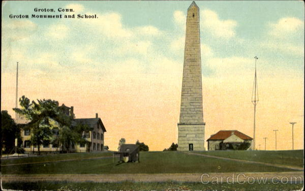 Groton Monument and School Connecticut