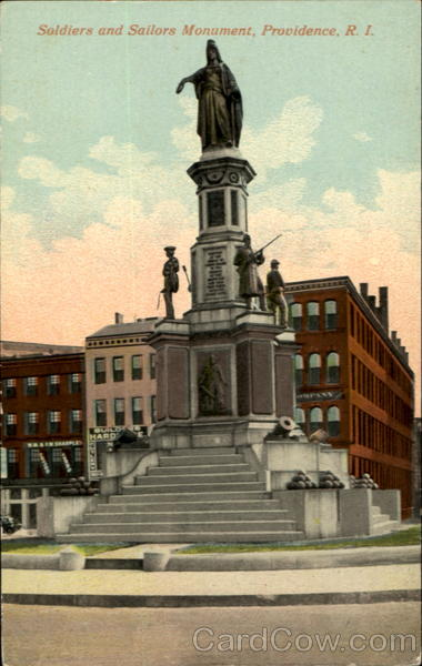 Soldiers and Sailors Monument Providence Rhode Island