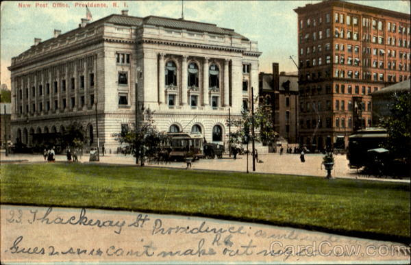 New Post Office Providence Rhode Island