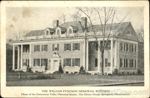 The William Pynchon Memorial Building Springfield Massachusetts