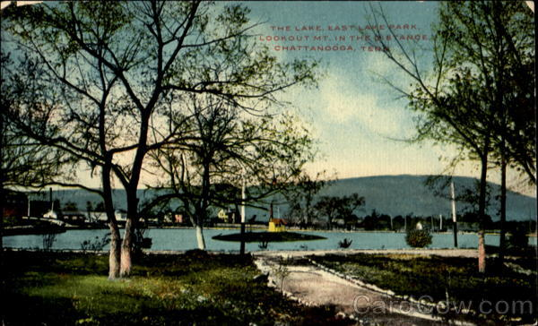 The Lake, East Lake Park Chattanooga Tennessee