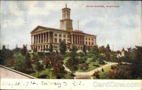 State Capitol Nashville Tennessee