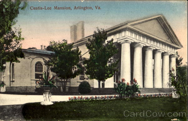 Custis-Lee Mansion Arlington Virginia
