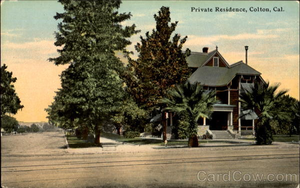 Private Residence Colton California
