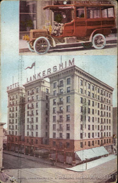 Hotel Lankershim, 7th & Broadway Los Angeles California