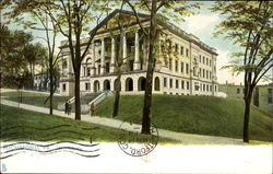 The State Library Postcard