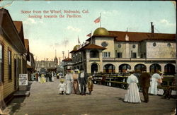 Scene From the Wharf