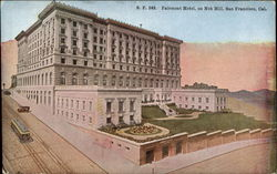 Fairmont Hotel on Nob Hill