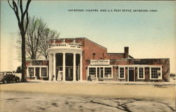 Saybrook Theatre And U. S. Post Office