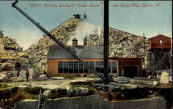 Barclay Brothers Power House and Dump Piles