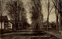 Main St. Looking North Showing Cong. Church