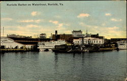 Norfolk Harbor On Waterfront