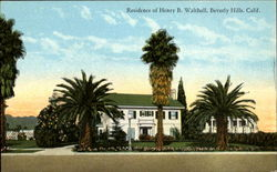 Residence of Henry B. Walthall