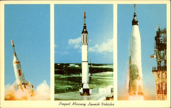 Project Mercury Launch Vehicles Space & Rockets