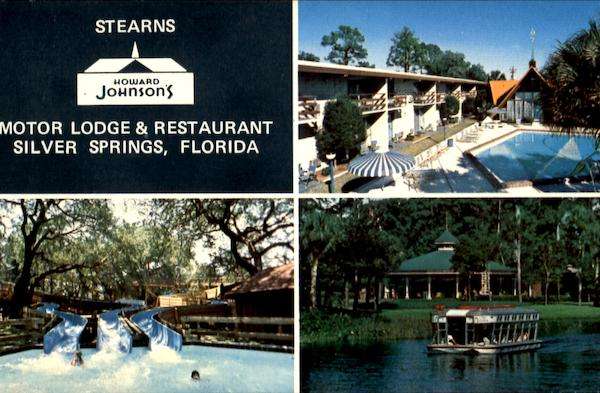 Stearns Howard Johnson's Motor Lodge & Restaurant Silver Springs Florida