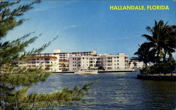Intracoastal Waterway Hallandale Florida