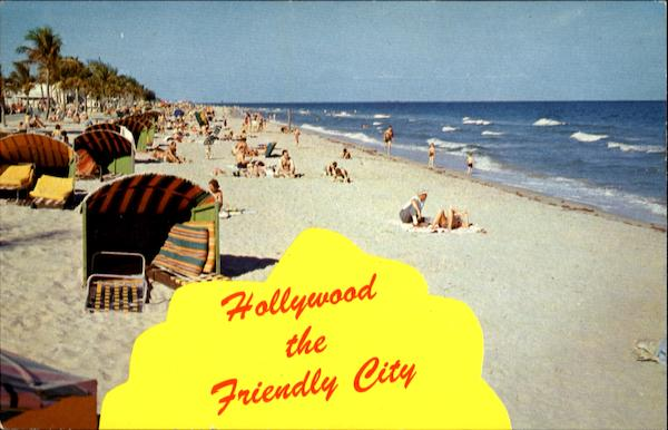 Hollywood The Friendly City Florida
