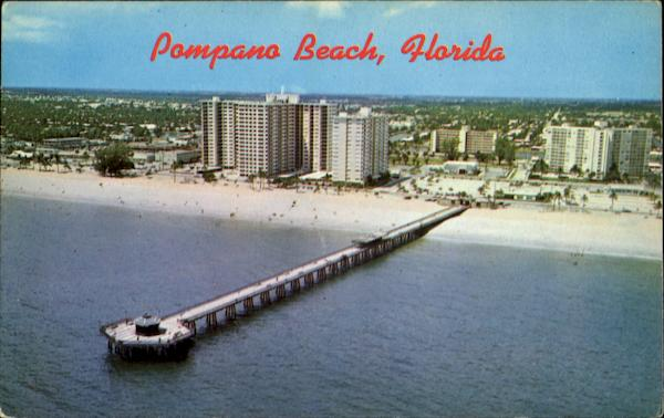 Fishing pier pompano beach fl for Fishing piers in florida