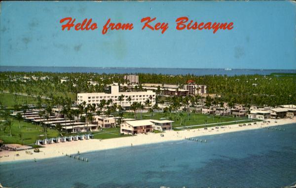 Key Biscayne Beach Key biscayne and
