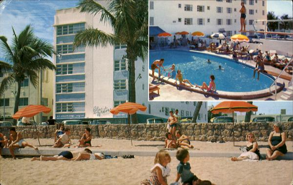 The Bluewater Hotel, 74th St. & The Ocean Miami Beach Florida