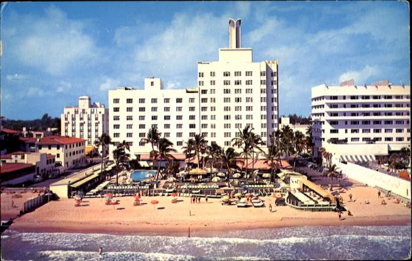 The Sea Isle Hotel Miami Beach Florida